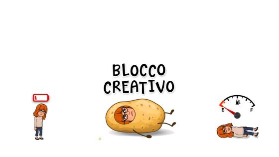 blocco creativo maledetto
